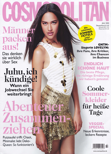 COSMOPOLITAN, GERMANY/july 2013