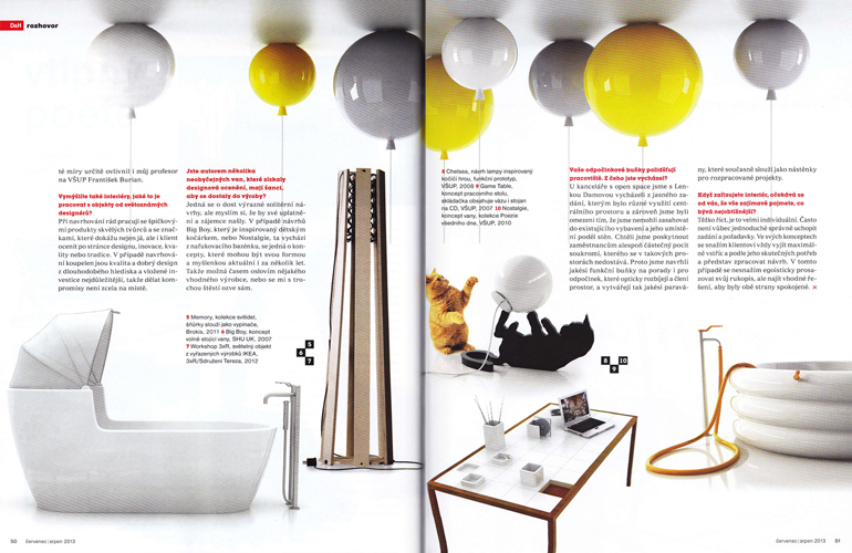 DESIGN & HOME/júl - august 2013