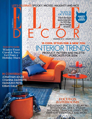 Elle Decor, India/január 2014