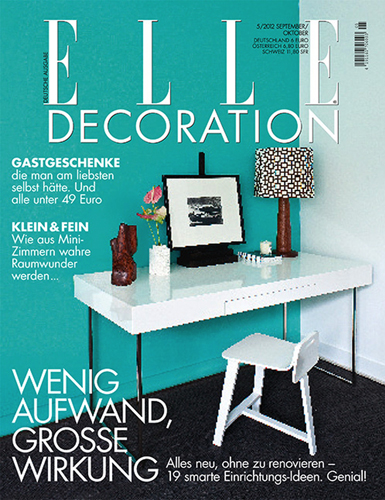 ELLE DECORATION, GERMANY/jeseň 2012
