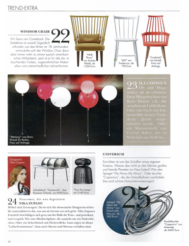 ELLE DECORATION, GERMANY/autumn 2012