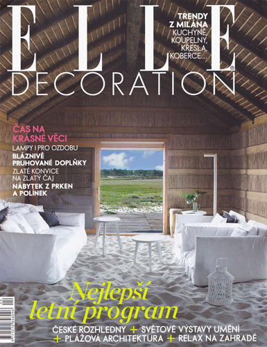 ELLE DECORATION/leto 2012
