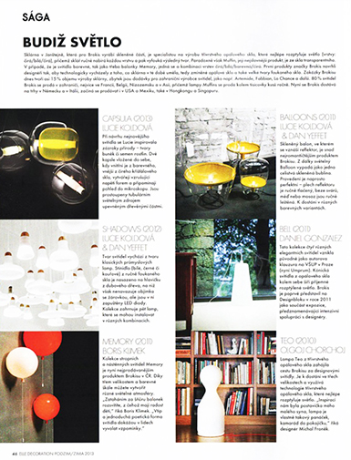 ELLE DECORATION/zima 2013