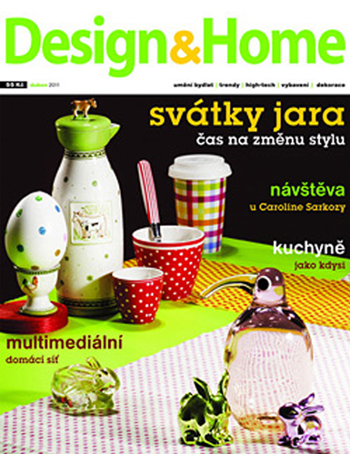 DESIGN & HOME/april 2011