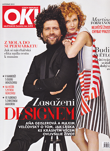 OK! Magazine - Czech/november 2015